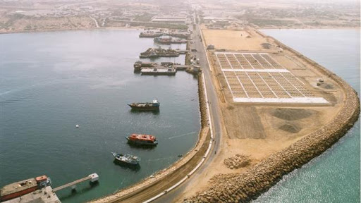Iran, port of Chabahar