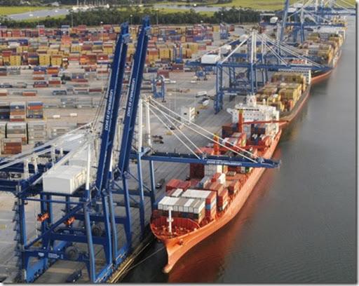USA, Port of Charleston (South Carolina)