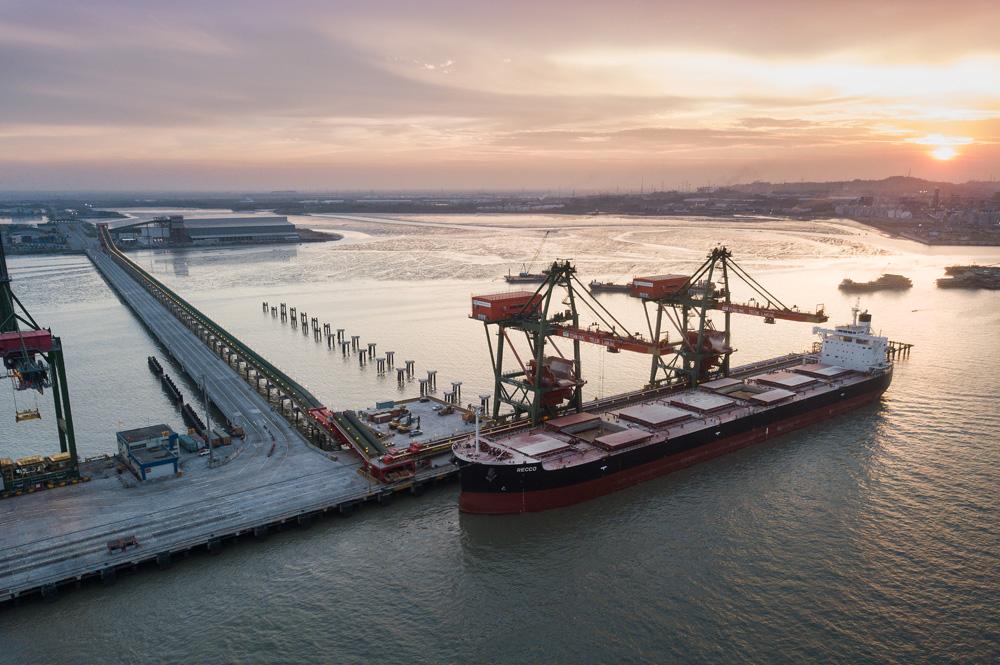 Indonesia, port in Gresika