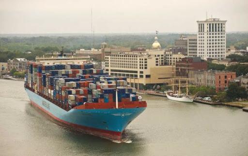 USA, port of Savannah (Georgia)