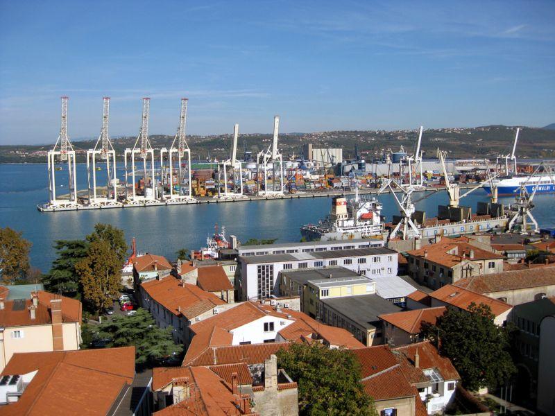 Slovenia, port of Koper
